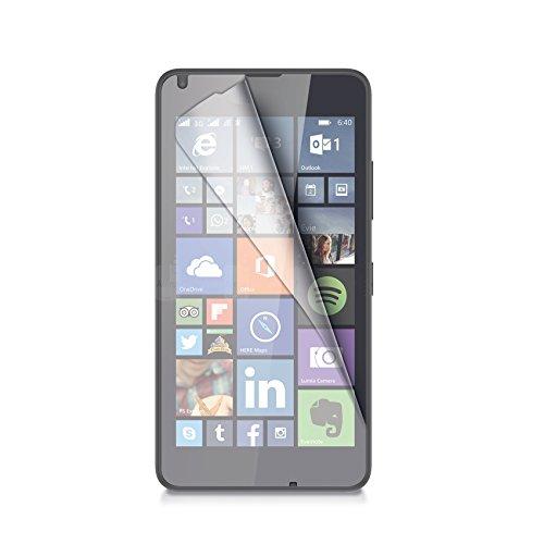 Celly Pellicola Protettiva per Nokia Lumia 640, Trasparente