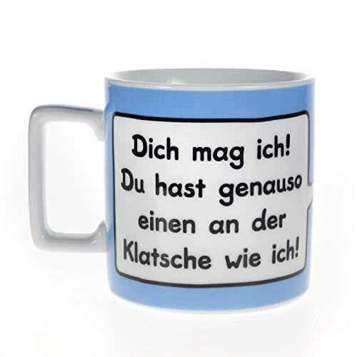 Sheepworld Wortheld Tasse 42256, Dich mag ich, Kaffee-Tasse aus Porzellan