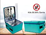 SRB Portable UV Sterilization, Germicidal & Disinfection Box Cum Bag with Timer Kills 99.9% of Germs Viruses with 10 Liters - Pack of 1 (Foldable Disinfection Case (10 Litre) - C1)