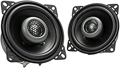$22 » MB Quart FKB110 Formula Car Speakers (Black, Pair) – 4 Inch Coaxial Speakers, 40 Watt, 2-Way Car Audio, Internal Crossover...