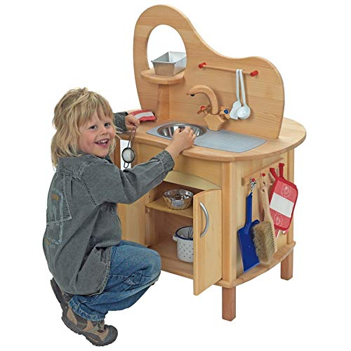 Spielküche aus massivem Holz - 3