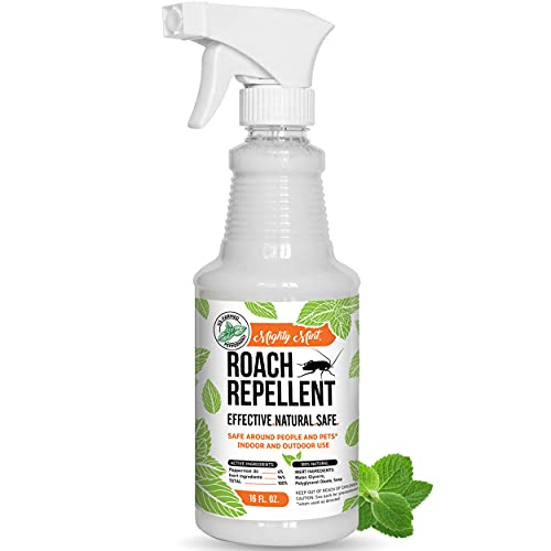 Mighty Mint 16oz Cockroach Repellent Natural Peppermint Oil Spray