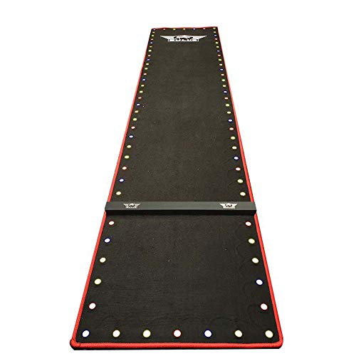 BULL´S Darts Teppich LED Dartmate mit Linie