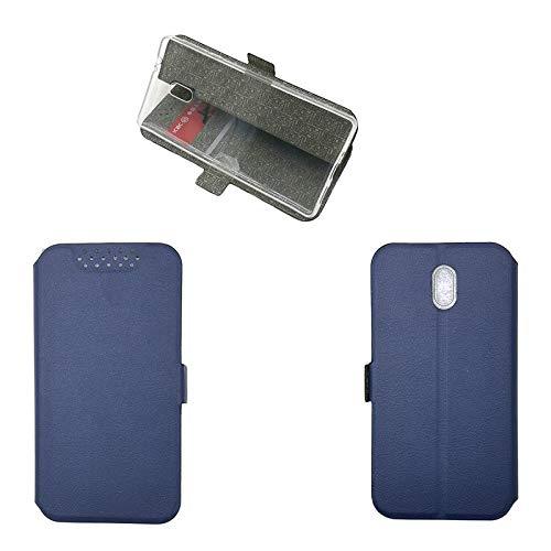 QiongniAN Cover per Nokia 3,Custodia per Nokia 3 TA-1020 TA-1032 Custodia Case Cover Blue
