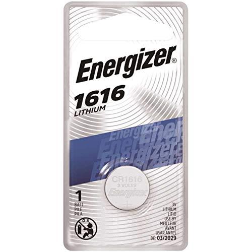Energizer Lithium 1616 3 volt Keyless Entry Battery 1 pk