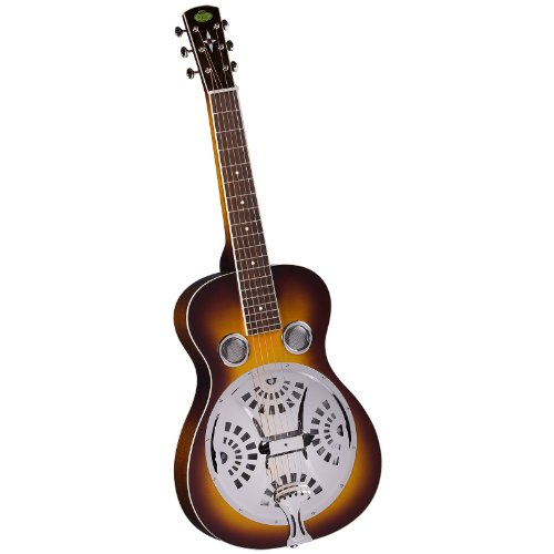 Regal RD-40VS Squareneck madera Vintage Sunburst cuerpo de guitarra con acabado Resophonic