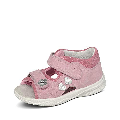 Superfit Baby Mädchen POLLY Sandalen, Pink (Rosa 55), 23 EU
