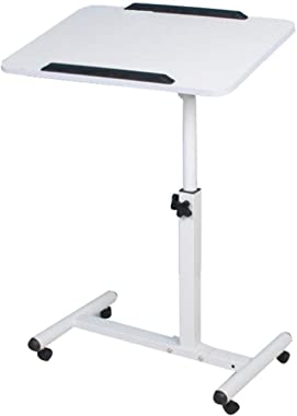 HTDZDX Small Folding Coffee Side Table Foldable Student Dormitory Laptop Bed Writing Desk Mobile Lift Bed Side Tables