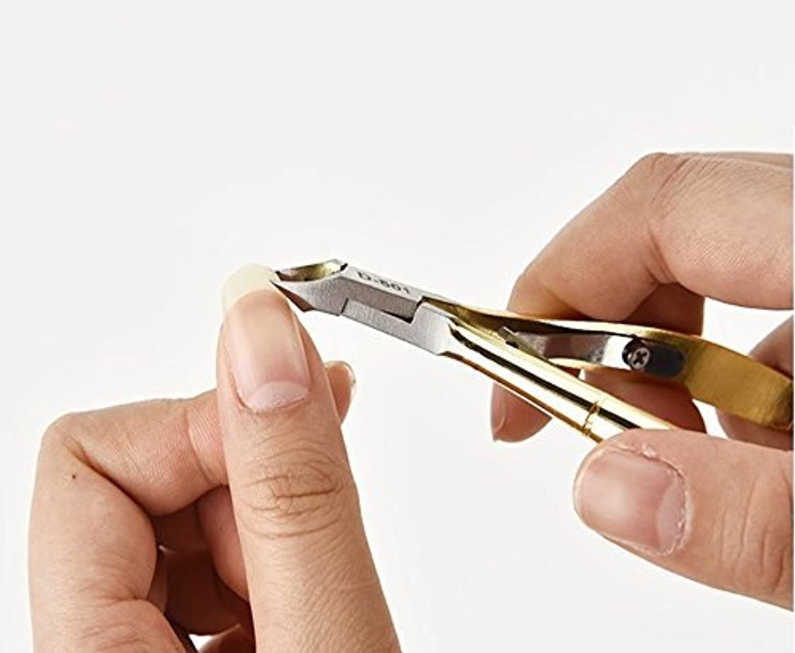 以降祈りハイライトSD 鍛造 高品質ステンレス キューティクルニッパー 甘皮切り ささくれニッパー ニッパー式爪切り 魚の目などの角質にも対応 CUTEN