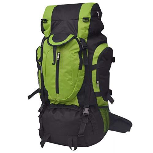 Nishore Trekking Wanderrucksack Reiserucksack Rucksack Outdoor Camping Wandern XXL 75 L 37 x 22,5 x 73 cm-2 getrennte Innenfächer