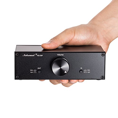 Nobsound Mini Fully-balanced/Single-ended Passive Preamp; Hi-Fi...