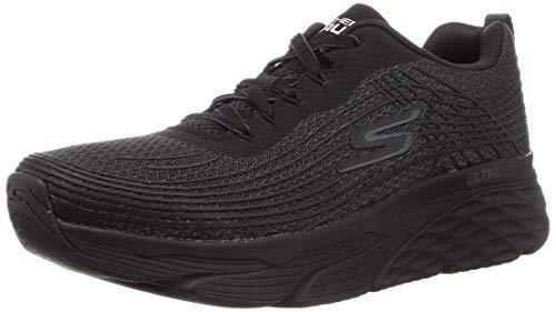 Skechers Men's Max Cushioning Elite-Performance Walking & Running Shoe Sneaker, Black, 8 M US