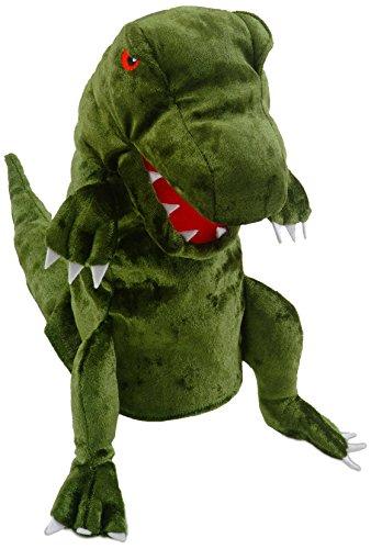 Fiesta Crafts T-2737 Fiesta Marionnette à Main Dinosaure Vert