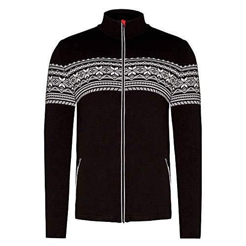 Newland Zip Sporty Norwegian Jacke Herren Größe L, Farbe Schwarz
