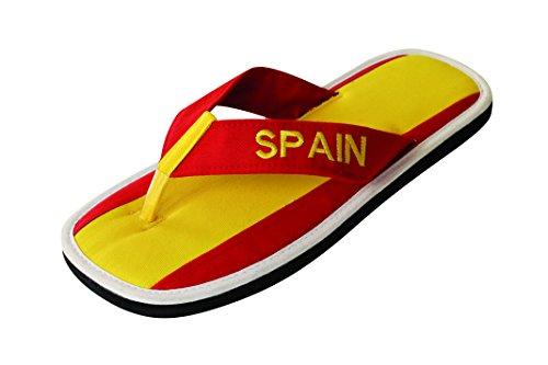 Nawemo Zimt-Slipper Spanien, WM-Edition (Zimtlatschen), Größe 39/40