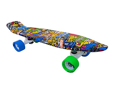 "Jaspo Cruiser Magneto Penny Board 22""X5.5"" Inches Suitable for Age Group Up to 12 Years"