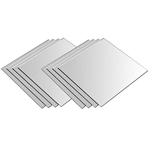 Espejos de pared 20,5x20,5cm Conjunto de espejos 8 piezas