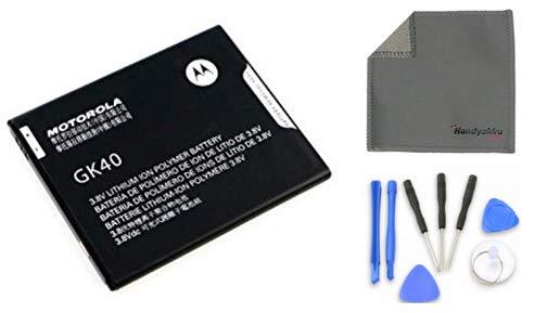 Handyakku4you Original Motorola GK40 Akku Battery für Motorola E3 G4 Play Moto G5 4G LTE inkl. Handyakku4you Reparatur Set und Reinigungstuch