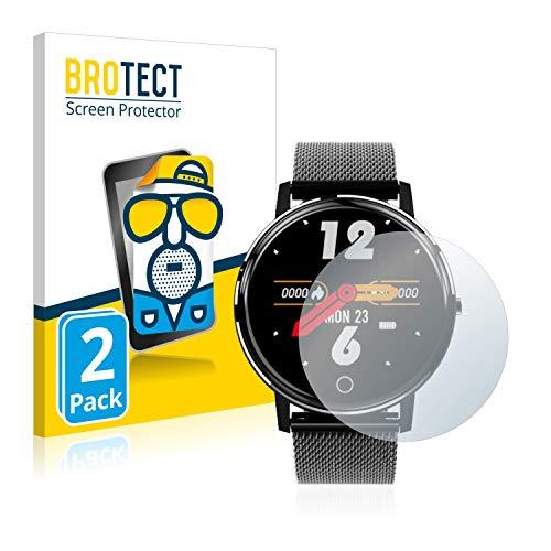 BROTECT 2X Entspiegelungs-Schutzfolie kompatibel mit Holalei Fitness Tracker 1.3