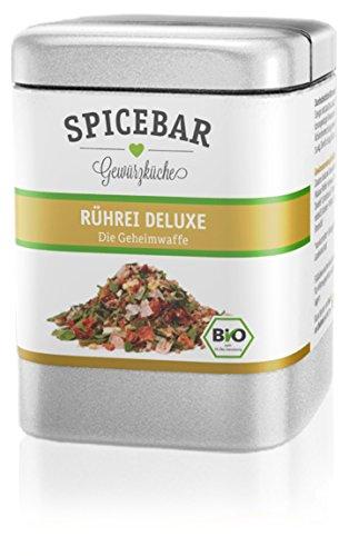 Spicebar Rührei Deluxe, Gewürz-Mischung für Ei und mehr, Bio (1 x 60g)