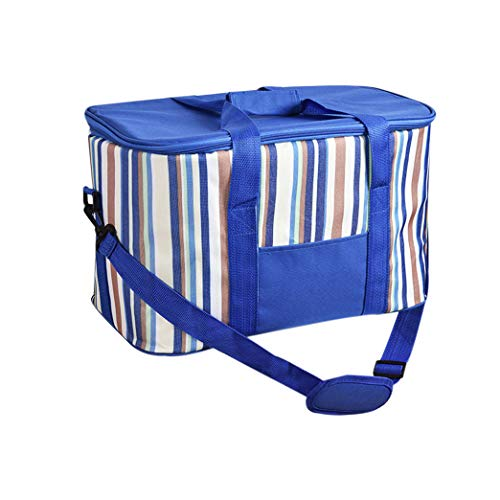 zhxinashu Picknicktasche Leer mit Großer Kapazität - Umhängetaschen Thermische mit Zubehör Lunchbox Isolierte Frisch