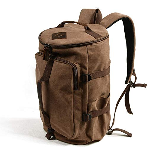 Lowest Price! HTRHEFG Classic Backpack Backpacks Canvas Shoulders Portable Messenger Multifunction T...