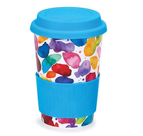 DUNOON Travel Mug Blobs Red! - 0,45l