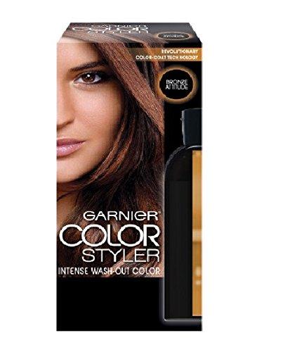 Garnier Hair Color Color Styler Intense Wash-Out Color, Bronze Attitude