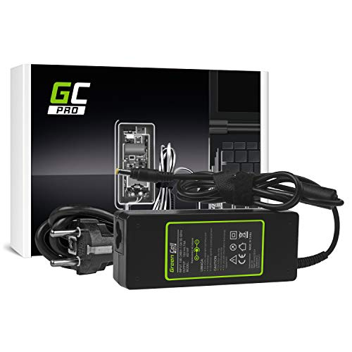 GC PRO Caricabatterie per HP Pavilion DV6500 DV6700 DV9000 DV9500 Compaq 6720s 6730b 6820s Laptop Notebook Portatile Caricatore Alimentatore (19V 4.74A 90W)