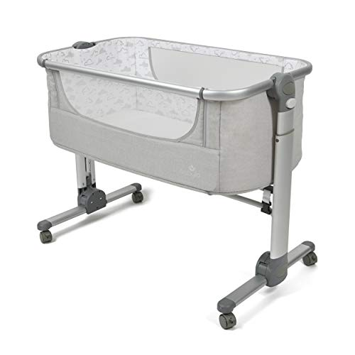 Babylo Folding Co-Sleeper - co Sleeper, standalone and Travel cot, Folds Easily in Seconds for Easy Transport