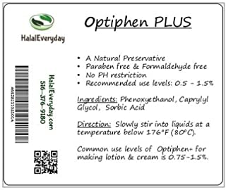 Optiphen Plus - Optiphen + Water Soluble and Gentle Preservative 2 Oz - Our Formula of Optiphen with Sorbic Acid - Enough ...