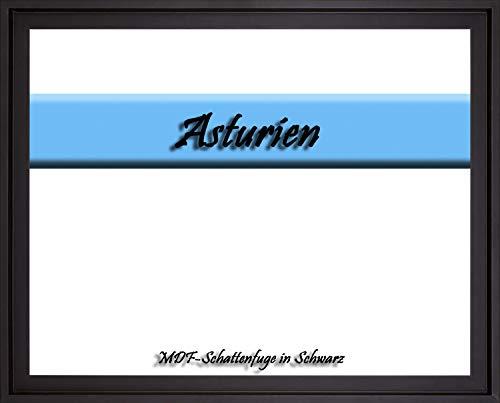 MDF-Leerrahmen ASTURIEN speziell für Leinwandbilder BZW. Keilrahmenbilder im Format 27 x 35 cm. Schattenfugenrahmen in der Farbe: Schwarz. 10 Farben zur Auswahl