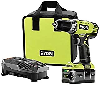 RYOBI P1814 18-Volt ONE+ Lithium-Ion Cordless Drill/Driver Kit