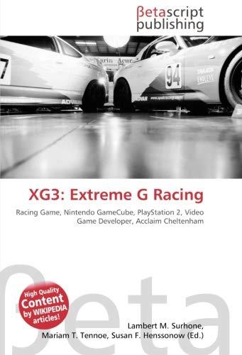 XG3: Extreme G Racing: Racing Game, Nintendo GameCube, PlayStation 2, Video Game...