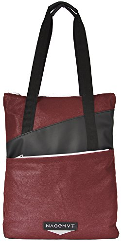 Wagemvt 030_KRZ Tote Pack Strandtasche, 12 L, Karmin