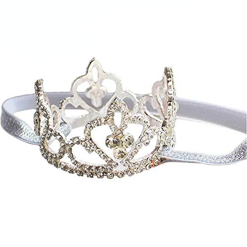 Princess Birthday Girl Tiara Headband Newborn Pageant Headdress Toy Jewelry Baby Photography Headband Props