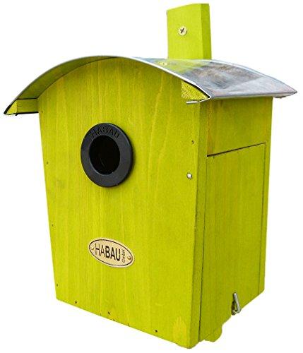 HABAU 2962 - Nido con Tetto Rotondo, Colore: Verde