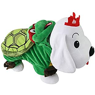 Y-Hui Cat / Dog Costume Green Winter / Spring/Fall Animal Cosplay, Dog Clothes / Dog Clothing,1,Green:Videolink