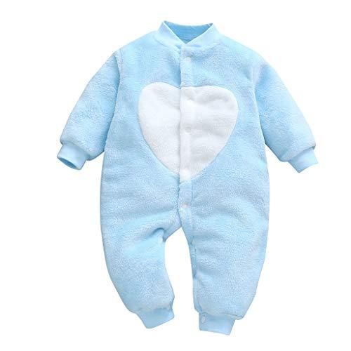 Ropa Recien Nacido Niño,Lanskirt Monos para Bebés Niño 3M-18M Bodies Bebé Recién Nacido con Imprimiendo de Amor Corazón Mono Romper Ropa Recien Nacido Niña Verano