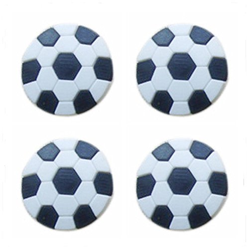 5pcs Shoes Charms for Shoe Decor Charms Birthday Party Gifts(Football Shape)