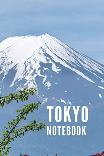 Tokyo Notebook: Japan City Tourist Travel Guide, Blank Lined Ruled Writing Notebook 108 Pages 6x9 inches