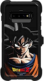 Skinit Decal Skin for Otterbox Defender Galaxy S10 - Officially Licensed Dragon Ball Z Goku Portrait Design