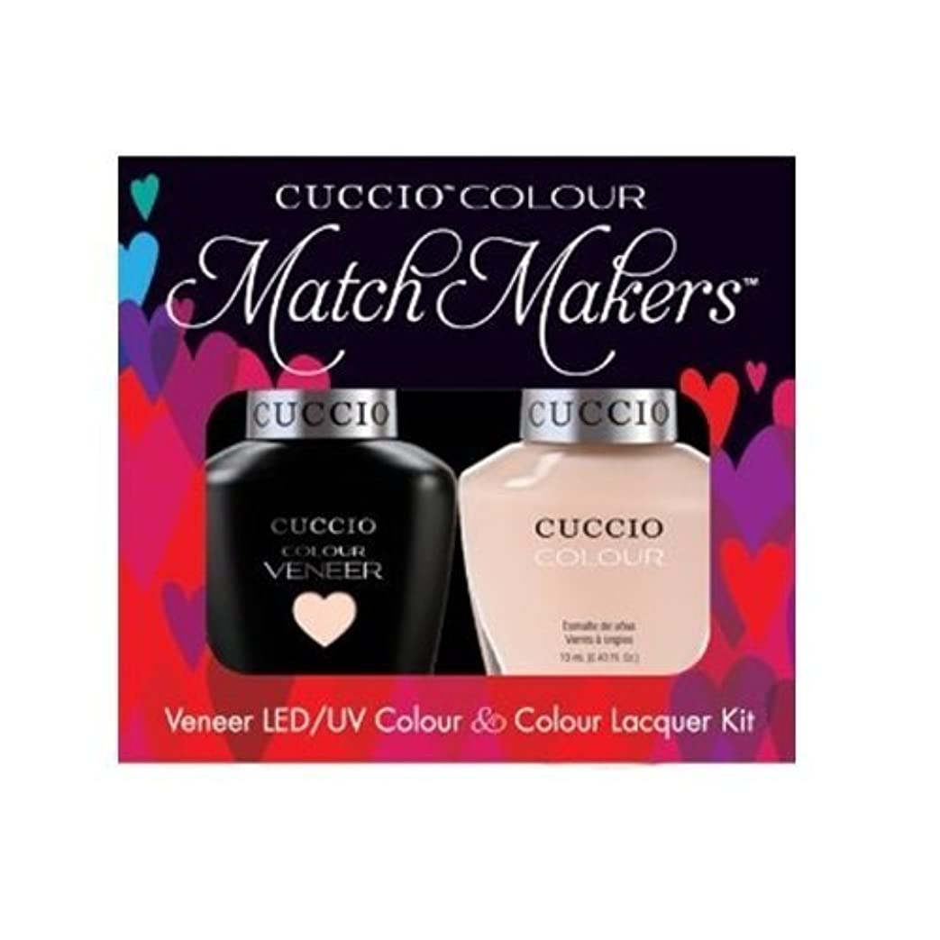威信フルーツ野菜杭Cuccio MatchMakers Veneer & Lacquer - See It All in Montreal - 0.43oz / 13ml Each