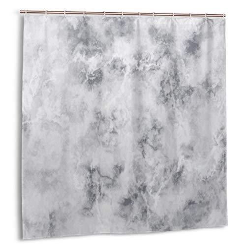 Throwpillow Duschvorhang,Granit-Oberflächenmuster mit stürmischen Details Druck der natürlichen Mineralbildung,wasserdicht hochwertige Qualität Duschvorhänge inkl 12 Ringe