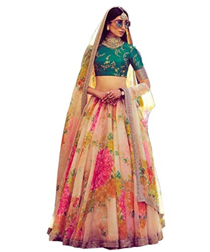 Trendy culture lehenga choli for women party wear wedding bridal lengha choli Bollywood designer latest trending celebrity lehenga choli