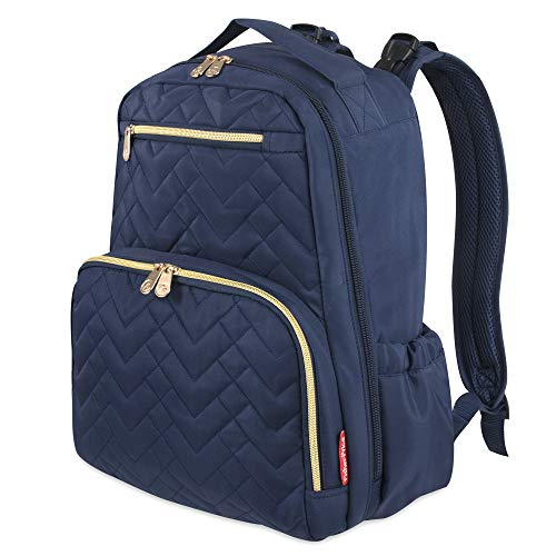 Fisher-Price Morgan Quilted Diaper Backpack