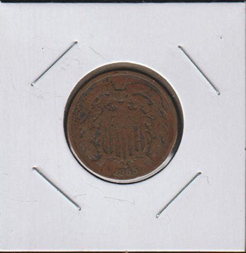1865 Shield Two Cent (1864-1873) Two-Cent Very Good