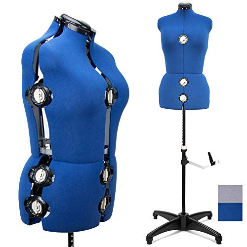 BHD Beauty 13 Dials Female Fabric Adjustable Mannequin Dress Form