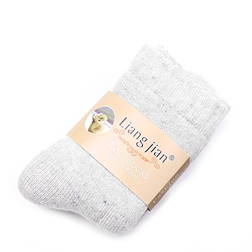 FATTERYU 1 Paar Frauen Verdicken Thermische Wolle Kaschmir Casual Sports Winter Warme Wandersocken LGW