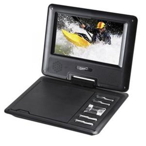 Check Out This SUPERSONIC SC-177 / 7 Swivel Portable DVD Player